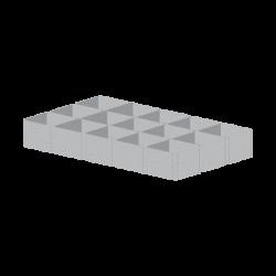 Геомодуль ГМ200(100) 5,2*2,4м  (12,48м²)
