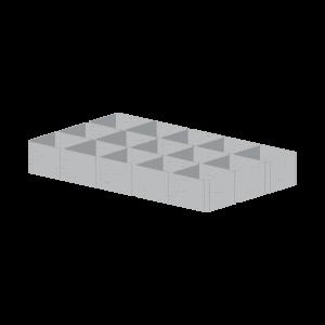 Геомодуль ГМ400 5,2*2,4м  (12,48м²)