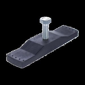Крепеж для лотка водоотвод. DN100 (с болтом 8*35)