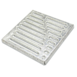 Решетка для дождеприемника стальная 285*285*21