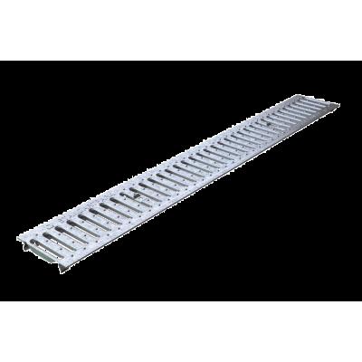 Решетка для лотка оцинкованная стальная 500*136*50