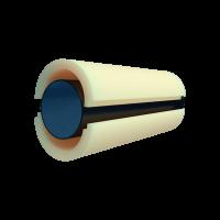Скорлупа из пенополиуретана (ППУ) Ø 160 без наружного покрытия
