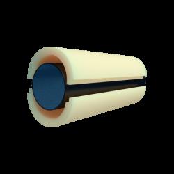 Скорлупа из пенополиуретана (ППУ) Ø 63 без наружного покрытия