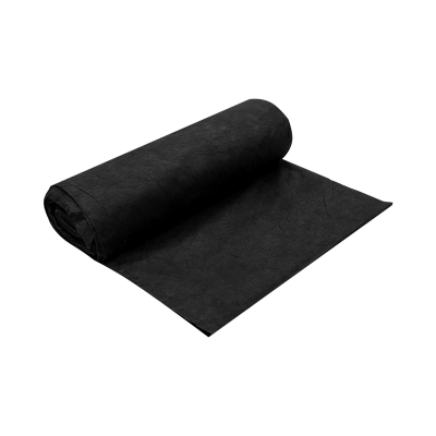 Спанбонд черный в рулоне, 80 г/м2, 1,6х50 м