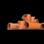 Труба НПВХ для наружной канализации Ø 110